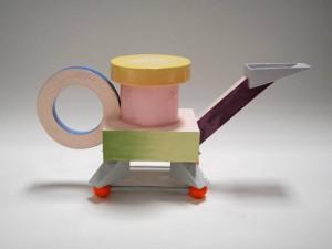 1980. Cubist Steam