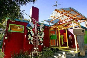 Peter Shire's Colorful House